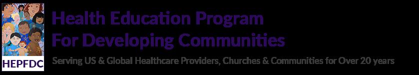 Health Education Program For Developing Communities